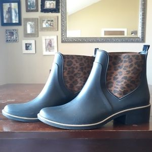 Kate Spade ankle rain boots